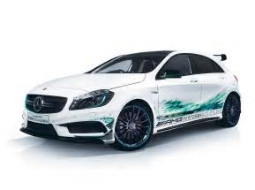 A 45 AMG Petronas Green Edition Launched in Japan