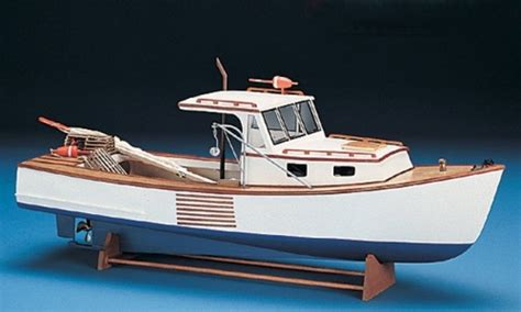Sport Fishing Boat Kits by Booth Bay Lobster Boat Model Kit