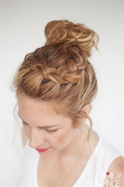 easy braided hairstyles for curly hair simple braids for thick hair