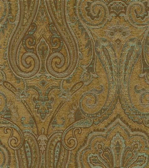 Upholstery Fabrics by Upholstery Fabric Waverly Clubroom Paisley Spa Jo
