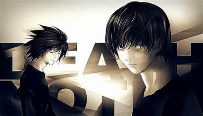 Anime Wallpapers Note Death Boy Laptop Guy