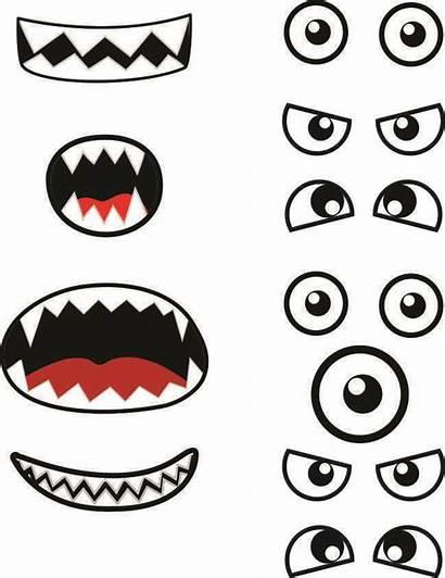Monster Printables Eyes Printable Template Cut Craft