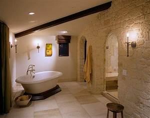 parement pierre salle de bain 35 exemples magnifiques With salle de bain pierre naturelle