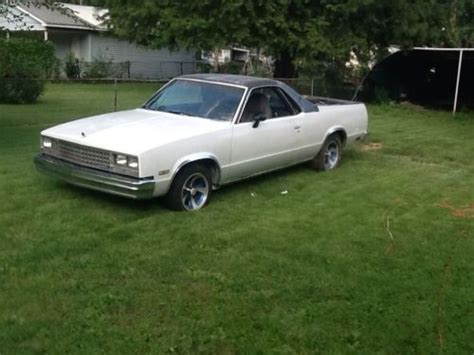 Sell Used 1982 Chevy Elcamino In Springfield, Illinois