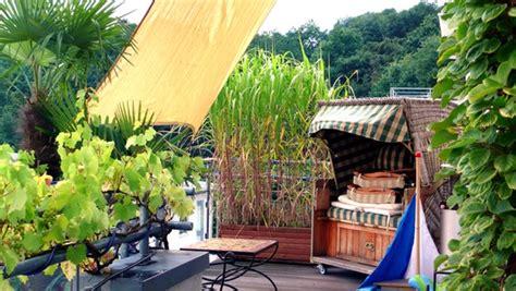 Sichtschutz Auf Dem Balkon Durch Pflanzen