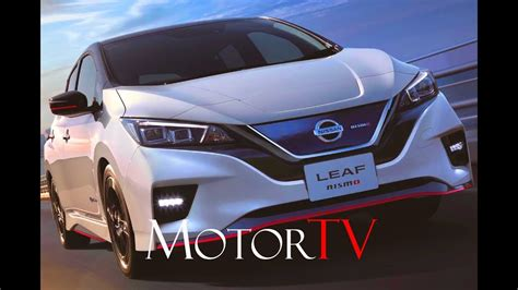nissan leaf nismo  design  drive youtube