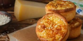 mini quiches sans p 226 te au parmesan et au jambon mes recettes faciles
