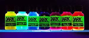 GLOWING Liquid Neon UV Blacklight Reactive Dye Paint