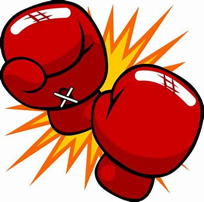 Clipart Knockout Boxeo Drawing Gloves Boxing Glove