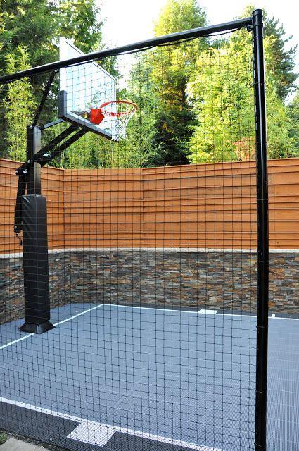 nice  small basketball court   boys
