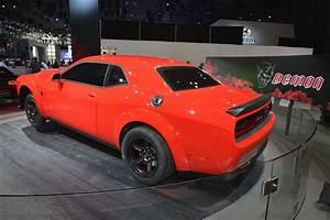 840HP Dodge Challenger SRT Demon Puts On Quite A Show In