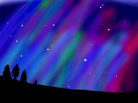 northern lights background wallpapersafari