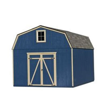 Heartland Storage Shed Plans by Hollans Models Heartland Estate 10ft X 12ft Gambrel Wood