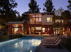 luxury custom villa in brentwood los angeles california With ordinary maison en rondin prix 3 how to decorate a wooden house one decor
