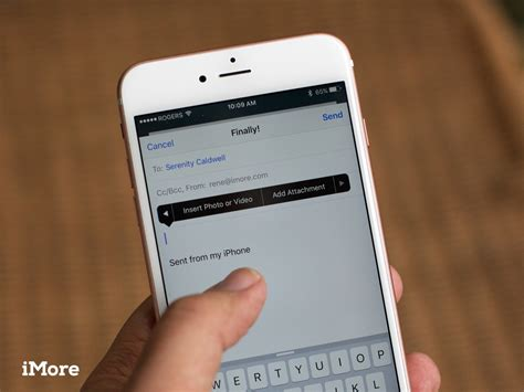 search email on iphone how to add attachments to mail for iphone and imore