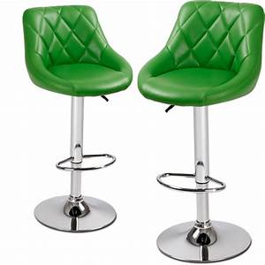 2 Tabourets Bar Set Tabouret Chaise De Bistrot Design