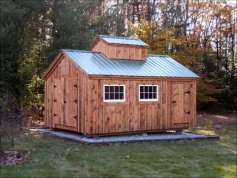 post  beam shed kits jamaica cottage shop  youtube