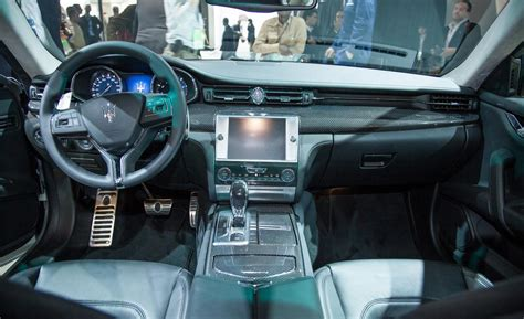 new maserati interior car and driver