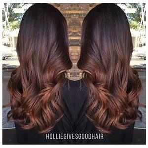 Ombré Hair Auburn : b a l a y a g e holliegivesgoodhair hairstyles pinterest cabello mechas cabello and ~ Dode.kayakingforconservation.com Idées de Décoration