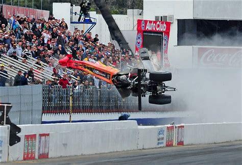 video mike austins crash  reminder drag racing