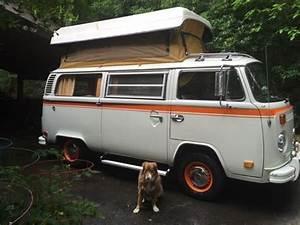 1974 Original Volkswagen Vw Bus Camper  Vanagon 1974 For Sale