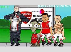 Özil as ET, Rooney as Shrek 442 Toons' Premier League