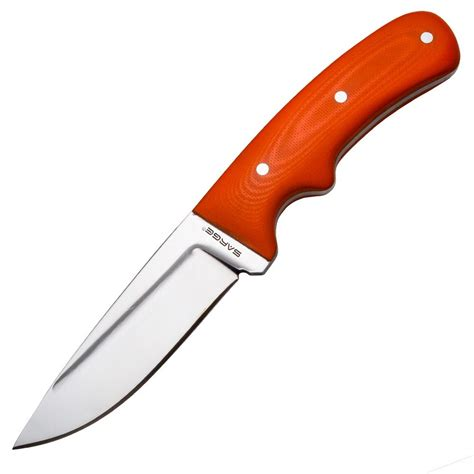 hunter orange  fiberglass knife scales rockler