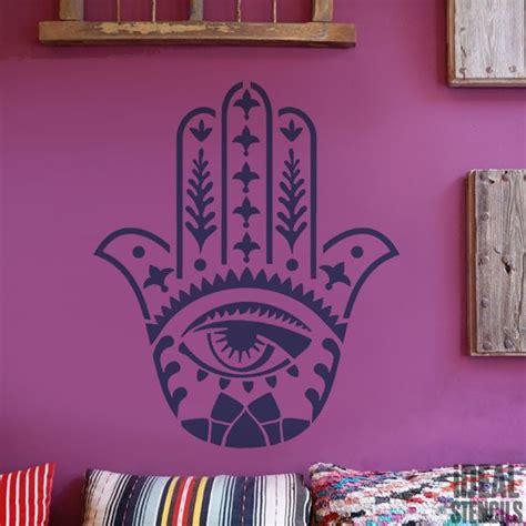 hamsa khamsa hand stencil ideal stencils