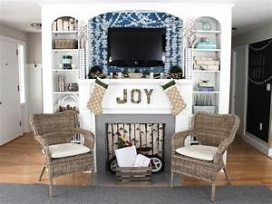 Coastal Christmas Mantel Decorating Ideas DIY Craft