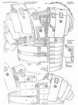 Roman Armor Lorica Segmentata Sca Medieval Leather Armour Pattern Shield Template Patterns Legionnaire Helmet Drawing Knight Costume Printable Diy Larp sketch template