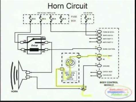 horns wiring diagram ford explorer 1998 car maintenance tips horns http