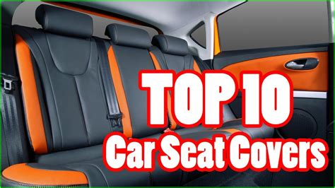 Top 10 Best Car Seat Covers In 2017 / 2018