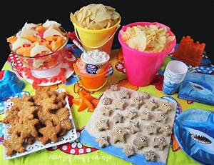 Beach Party Food Ideas featuring Chip and Dip Chicken ...