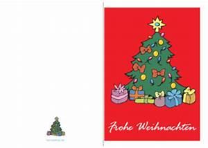 Geschenkkarten Zum Ausdrucken Kostenlos : weihnachtskarte 39 frohe weihnachten baum 39 vorlage muster zum ausdrucken ~ Buech-reservation.com Haus und Dekorationen