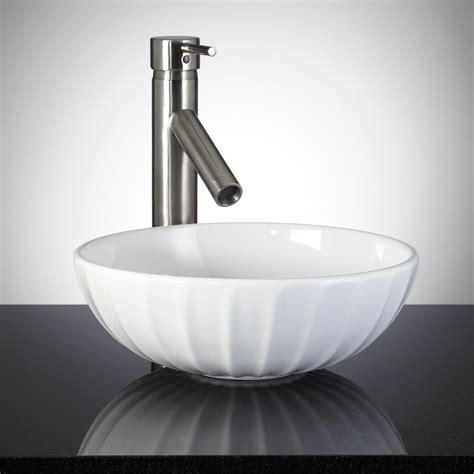 minerva  porcelain vessel sink vessel sinks