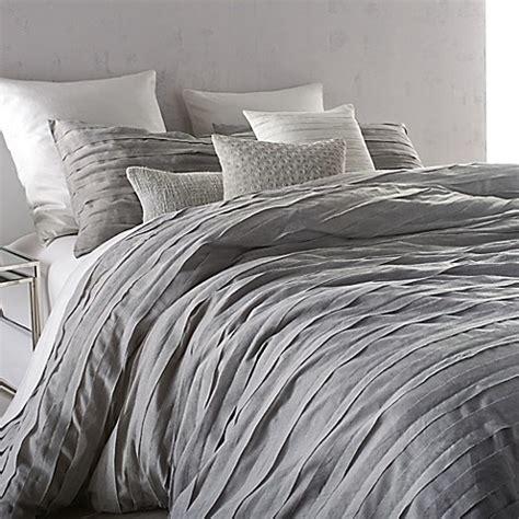 buy dkny loft stripe king comforter in grey from bed