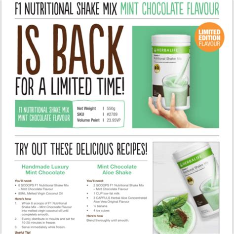With headquarters in los angeles, california, they have a wide global reach. Herbalife Mint Chocolate Recipes   Dandk Organizer