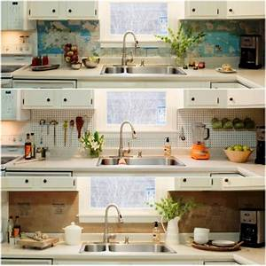 50 kitchen backsplash ideas for Kitchen cabinets lowes with world map for wall art