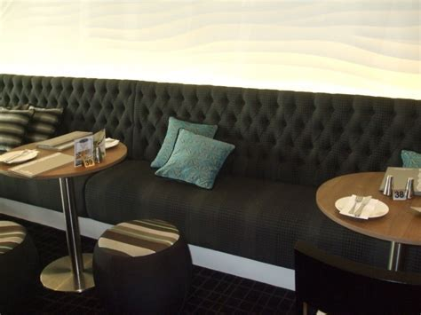 Commercial bench seating, dining banquette bench seating