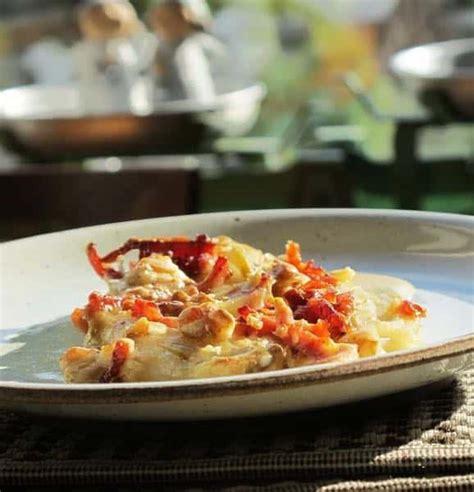 cuisiner crevette gratin de crevettes aux chicons cuisine flammande