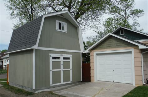 tuff shed putting the garage to shame