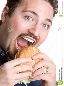 Man Eating Food Stock Photo - Image: 2476260