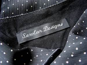 woven clothing labels sew in labels for handmade items With iron on woven clothing labels