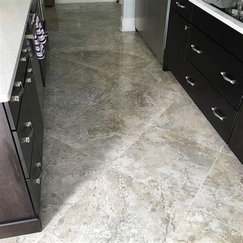 24x24 tile flooring final photos of the 24x24 tarsus grey polished porcelain tile on the south 2017 remodel