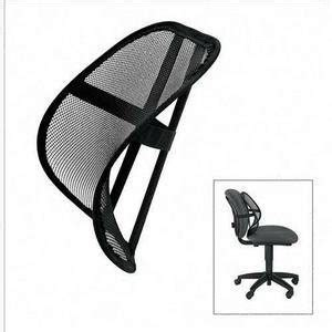 back support for office chair fellowes new mesh backrest black office products acedepot 27518