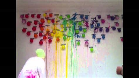 princess room decor ideas paint balloons on dart wall
