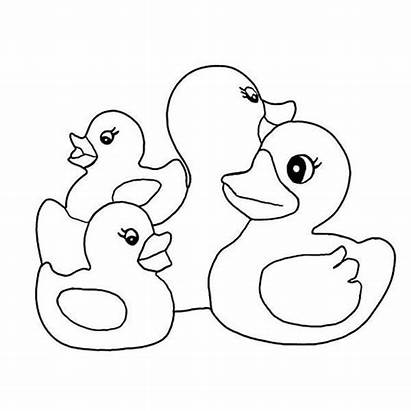 Bebek Gambar Mewarnai Untuk Anak