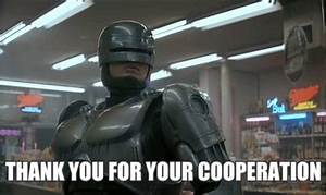 Robocop Thank You GIF - Find & Share on GIPHY