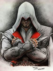 Ezio Auditore by Hybrid-Theory101 on DeviantArt