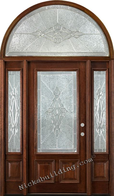 cheap front doors cheap exterior doors with sidelights